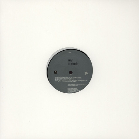 V.A. - My Friends EP