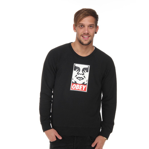 Obey - OG Face Crew Neck Sweater