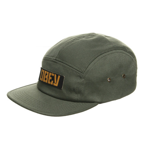 Obey - Twill Mill Spec 5 Panel Cap