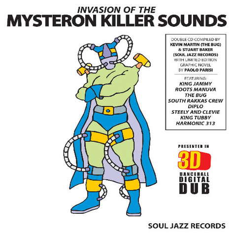 Kevin Martin (The Bug) & Stuart Baker (Soul Jazz Records) - Invasion of the Killer Mysteron Sounds in 3-D