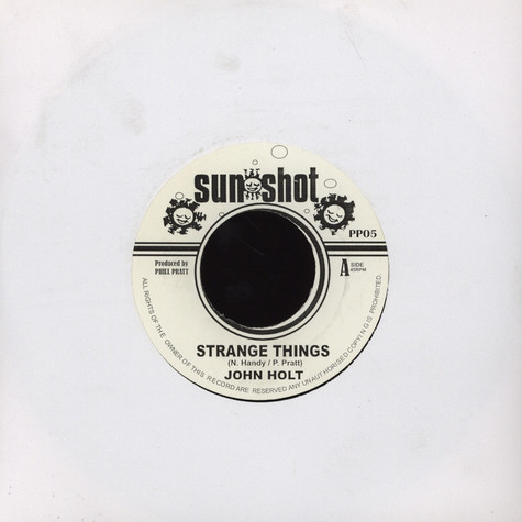 John Holt - Strange Things