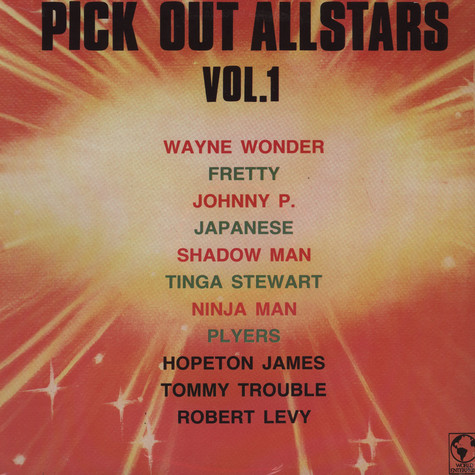 V.A. - Opick Out Allstars Volume 1