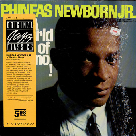 Phineas Newborn Jr. - A World Of Piano!