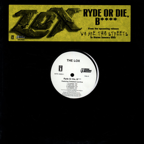 Lox, The - Ryde Or Die, Bitch