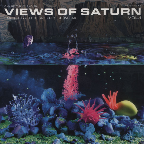 Ras G & The Alkebulan Space Program x Sun Ra - Views Of Saturn #1