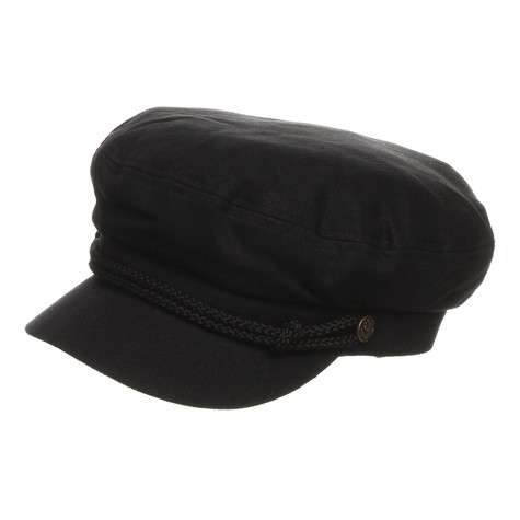 1137a80aaab4a Brixton - Fiddler Captain s Hat (Black)