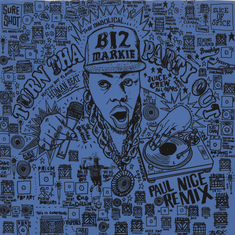 Biz Markie - Turn Tha Party Out Paul Nice Remix Black Vinyl Version