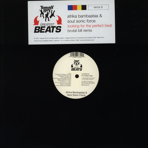 Arika Bambaataa & Soul Sonic Force - Looking for the perfect beat (Brutal Bill remix)