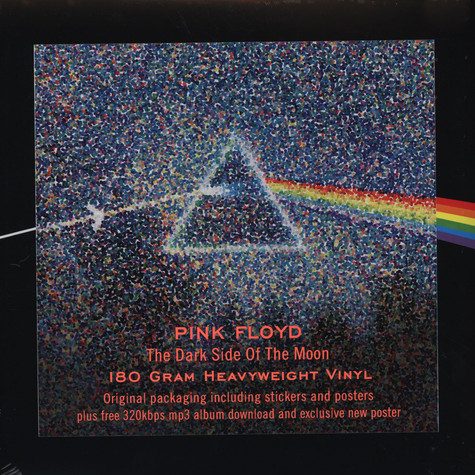 Pink Floyd - The Dark Side Of The Moon 40th Anniversary Edition