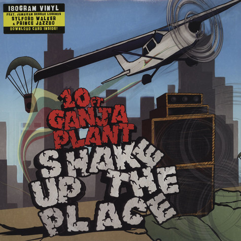 10ft. Ganja Plant - Shake Up The Place