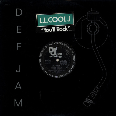 LL Cool J - You'll Rock (Remix) / I Need A Beat