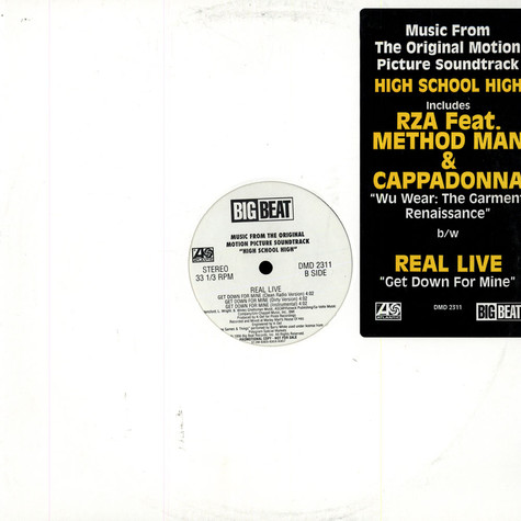 RZA / Real Live - Wu-Wear: The Garment Renaissance / Get Down For Mine