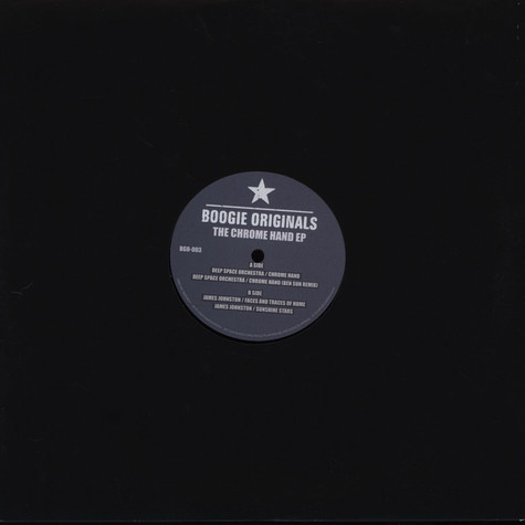 Deep Space Orchestra / James Johnston - The Chrome Hand EP