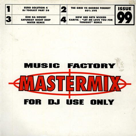 V.A. - Music Factory Mastermix - Issue 99