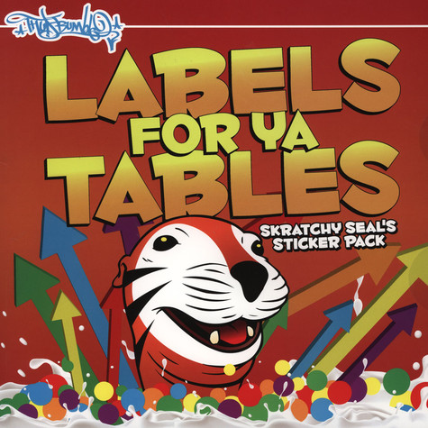 Skratchy Seal's Sticker Pack - Labels For Ya Tables