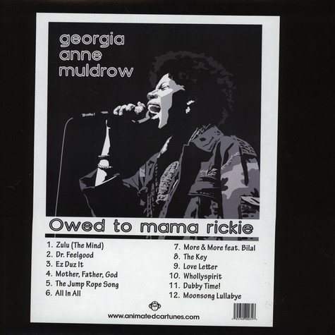 Georgia Anne Muldrow - Owed To Mama Rickie