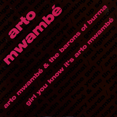 Arto Mwambe - Girl You Know It's Arto Mwambé