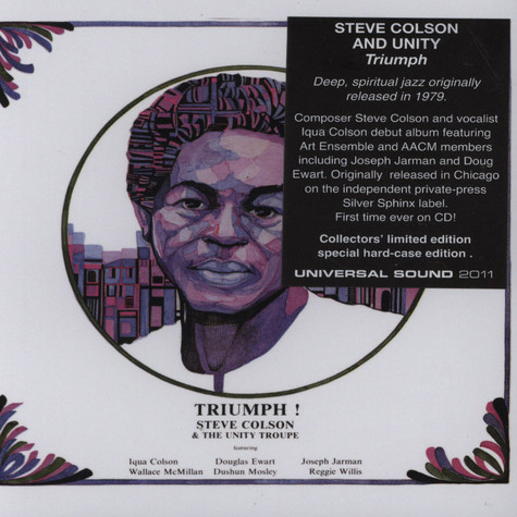 Steve Colson & The Unity Troupe - Triumph!