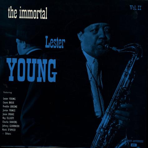Lester Young - The Immortal Lester Young Vol.2