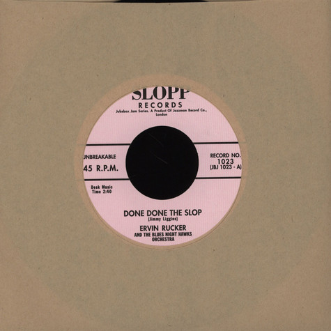 Ervin Rucker - Done Done The Slop