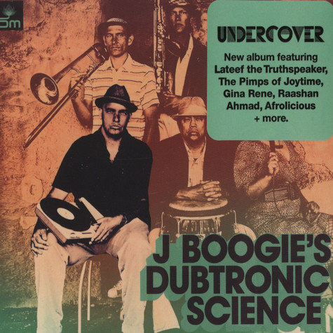 J.Boogie's Dubtronic Science - Undercover