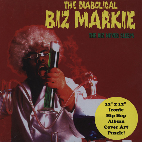 Biz Markie - The Biz Never Sleeps Puzzle Edition