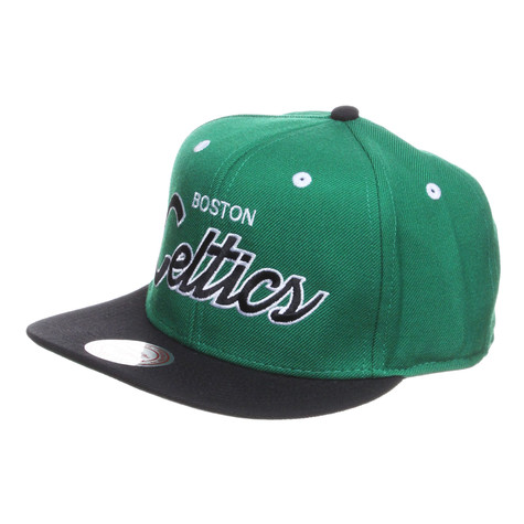 Mitchell & Ness - Boston Celtics NBA 2T Script Snapback Cap