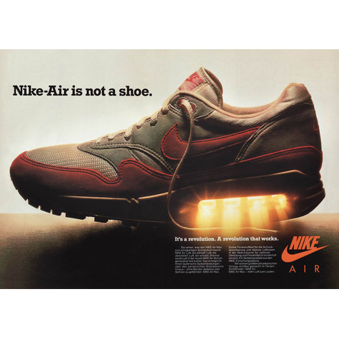 Nike - Nike Air Is Not A Shoe Poster