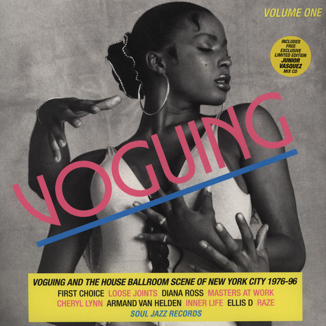 Soul Jazz Records presents - Voguing and the House Ballroom Scene of New York City 1989-92 LP 1