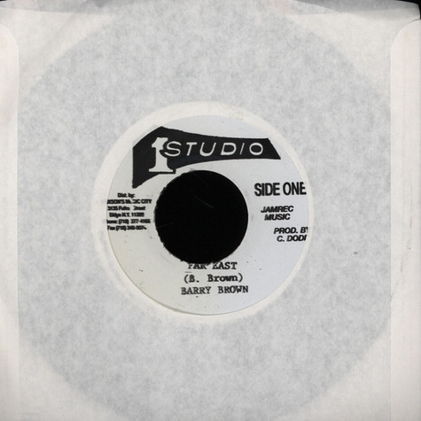 Barry Brown / Soul Vendors - Far East / Version