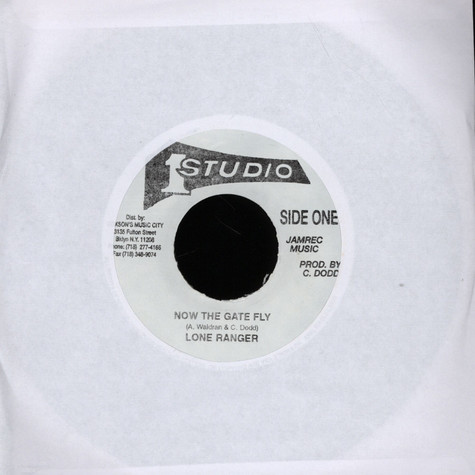 Lone Ranger / Soul Vendors - Now The Gate Fly / Version