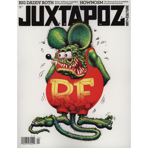 Juxtapoz Magazine - 2012 - 04 - April