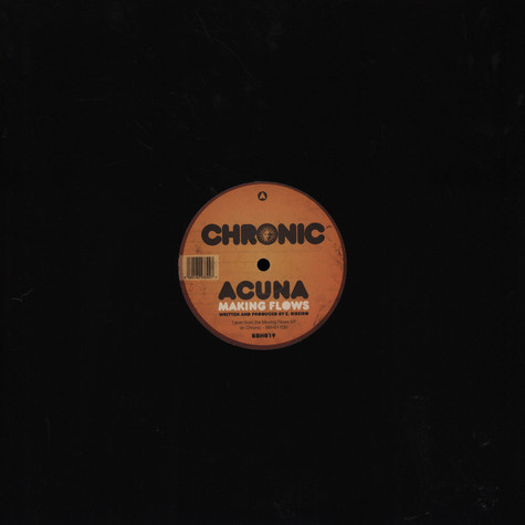 Acuna / Crytical Dub - Making Flows / Touch The Sky VIP