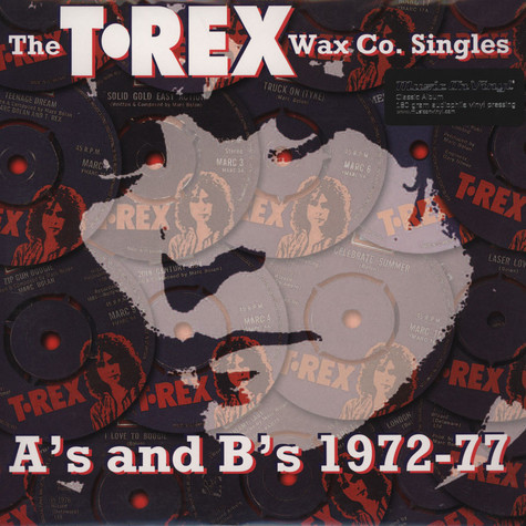T. Rex - The Wax Co. Singles - A's And B's 1972-1977