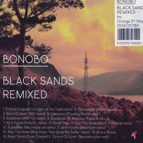 Bonobo - Black Sands Remixed Limited Edition