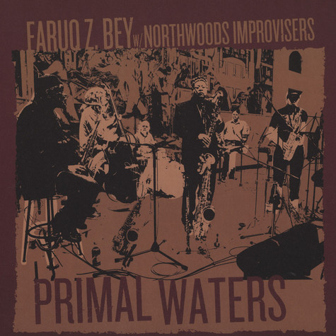 Faruq Z. Bey With Northwoods Improvisers - Primal Waters