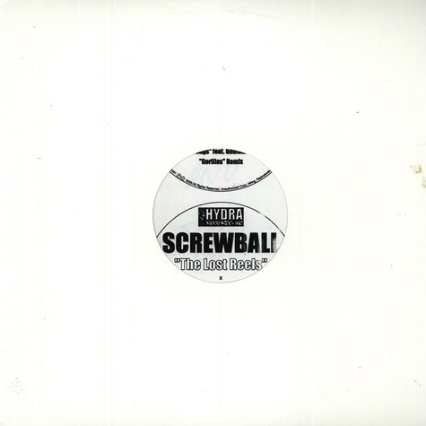 Screwball - The Lost Reels (Screwed Up)