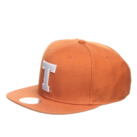Mitchell & Ness - University Of Texas NCAA Basic Logo Snapback Cap