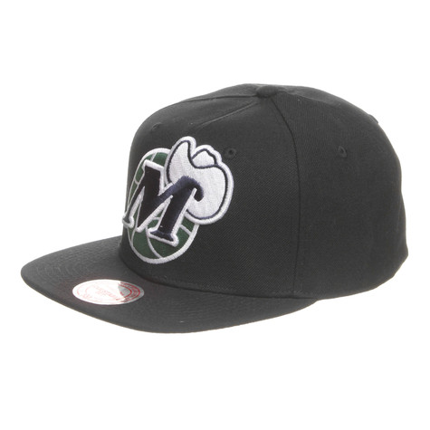 Mitchell & Ness - Dallas Mavericks NBA XL Logo Snapback Cap