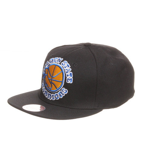 Mitchell & Ness - Golden State Warriors NBA XL Logo Snapback Cap