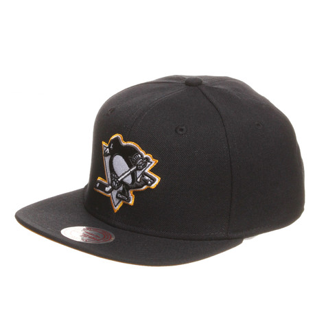 Mitchell & Ness - Pittsburgh Penguins NHL Vintage Black And White Snapback Cap