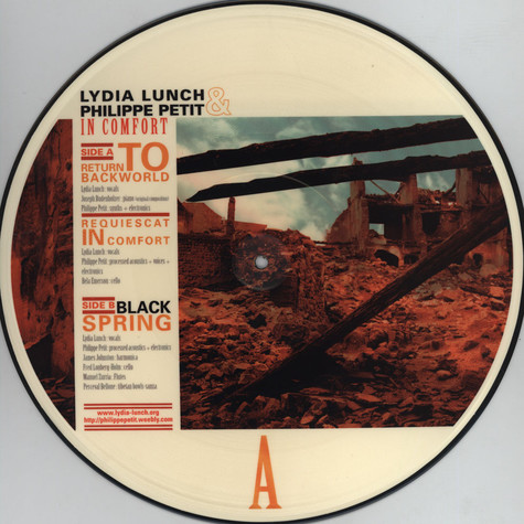 Lydia Lunch & Philippe Petit - In Comfort