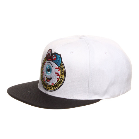 Mishka - Cartoon Crest Snapback Cap