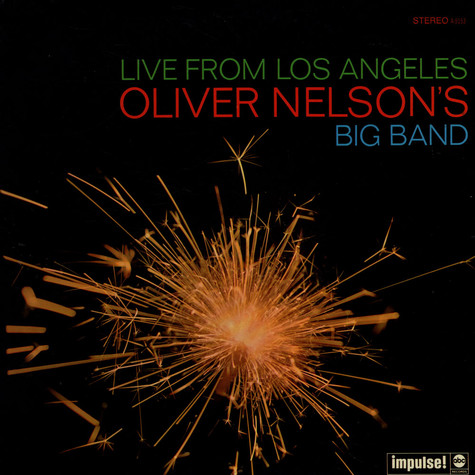 Oliver Nelson's Big Band - Live From Los Angeles