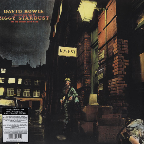 David Bowie - The Rise And Fall Of Ziggy Stardust And The Spiders From Mars 40th Anniversary Edition