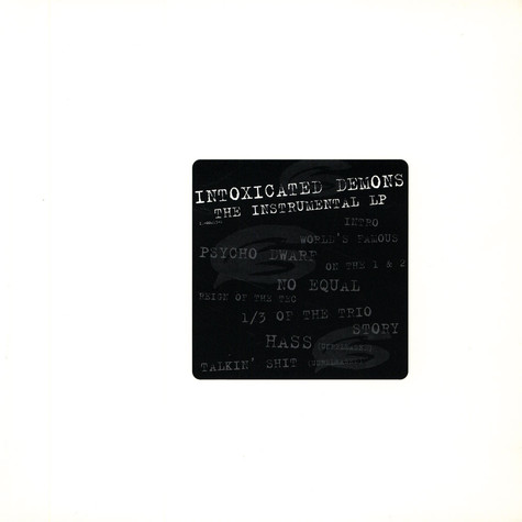 Beatnuts - Intoxicated demons instrumentals