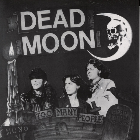 Dead Moon - Too Many People EP
