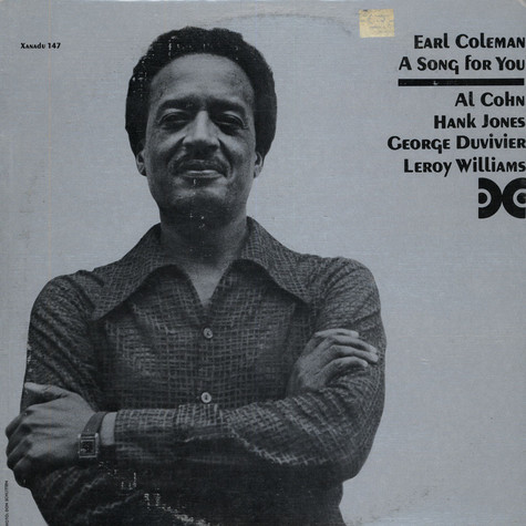 Earl Coleman - A Song For You