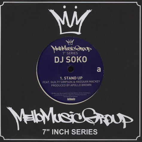 "DJ Soko - Mello Music Group 7"" Series Volume 4"