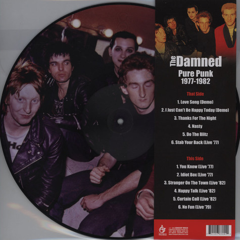 Damned, The - Pure Punk 1977-82